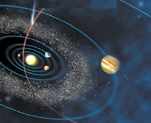 In the Anunaki spacecraft - Nibiru.. punching a corridor through the Asteroid Belt would prove to be one of the most dangerous parts of their mission to Earth.