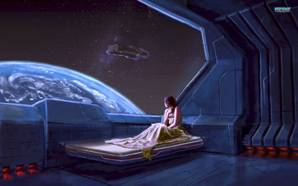 For a brief time.. Lilith was Enki's consort aboard his abandoned orbiting refinement station.