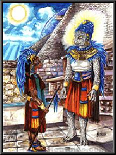 Mayan High-Priests had a direct relationship with the Anunaki elite~