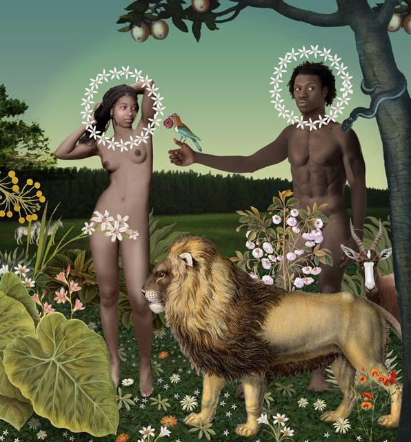 The First Humans - Adamu and Lilitu