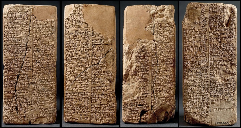 The Sumerian Tablets - the Anunnaki