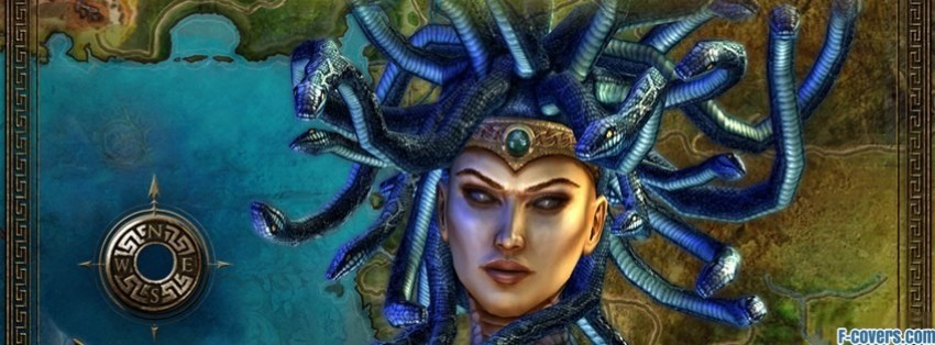 gods-heroes-rome-rising-mythology-medusa-facebook-cover-timeline-banner-for-fb